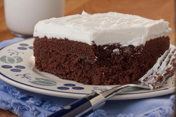 Homestyle Chocolate Cake