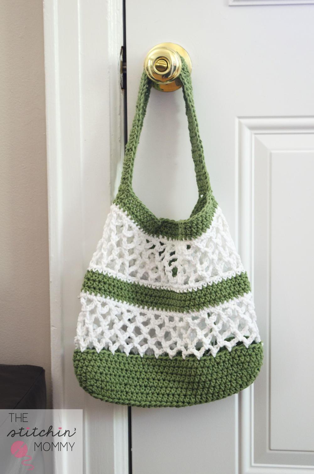 Go Green Mesh Crochet Tote Allfreecrochet Com
