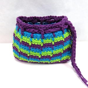 Spike Stitch Makeup Bag