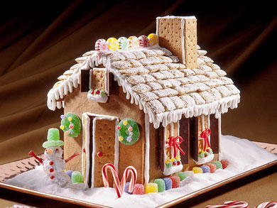 Gingerbread House Mrfood Com