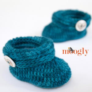 Teal Appeal Toddler Booties