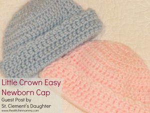 Little Crown Easy Newborn Cap