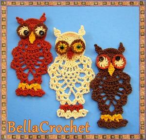 Stupendous 58 Crochet Owls Free Patterns Allfreecrochet Com Dailytribune Chair Design For Home Dailytribuneorg