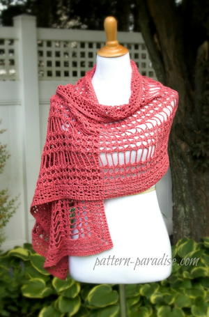 Summer Lace Crochet Wrap Pattern