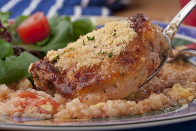 Italian Chicken and Rice