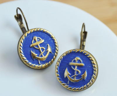 Nautical Flair DIY Earrings