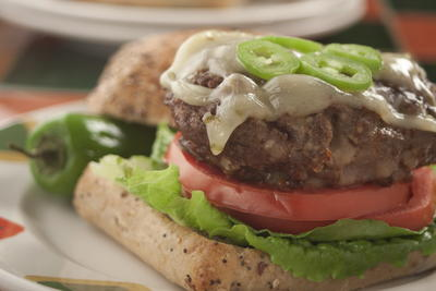 Jalapeno Cheese Burgers