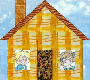Home Sweet Home Paper Pieced Block Favequilts Com