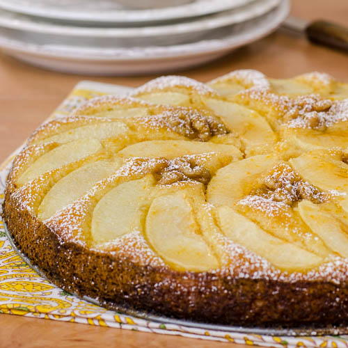 Old Fashioned German Apple Cake Favesouthernrecipes Com