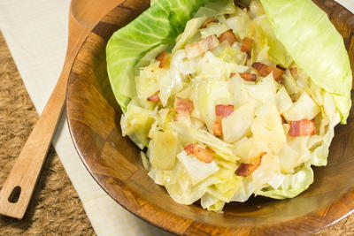 Bacon Lovers Southern Fried Cabbage