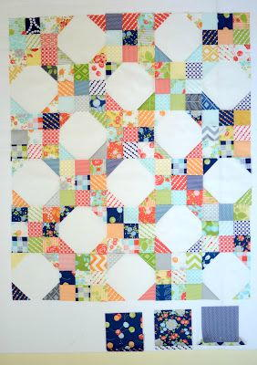 snowball nine patch pattern