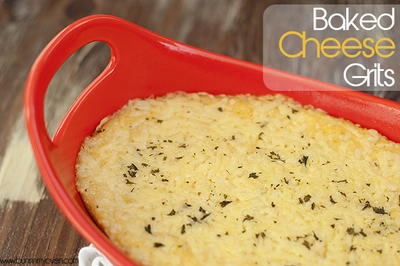 Best Baked Cheese Grits