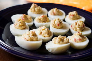 How to Make Deviled Eggs with Cheese