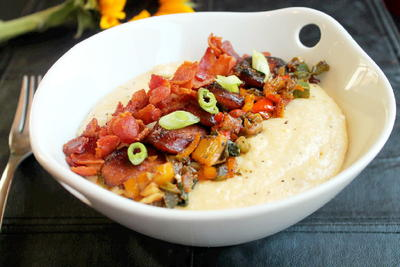 Smothered Southern Grits
