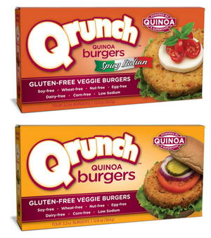 Qrunch Burger Prize Pack
