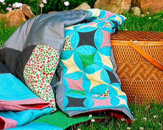 Church Picnic Quilt Pattern