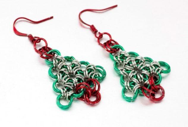 Christmas Tree Earrings Allfreejewelrymaking Com