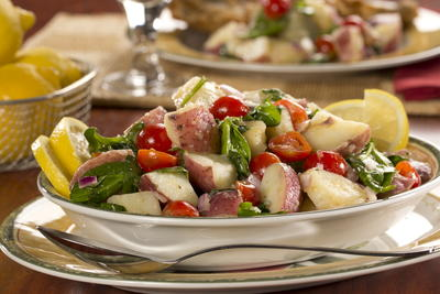 Lemon Tuscan Potato Salad