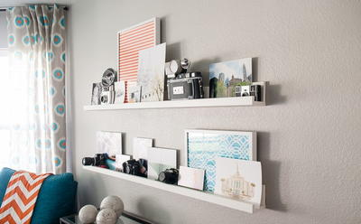 Easy DIY Floating Shelves
