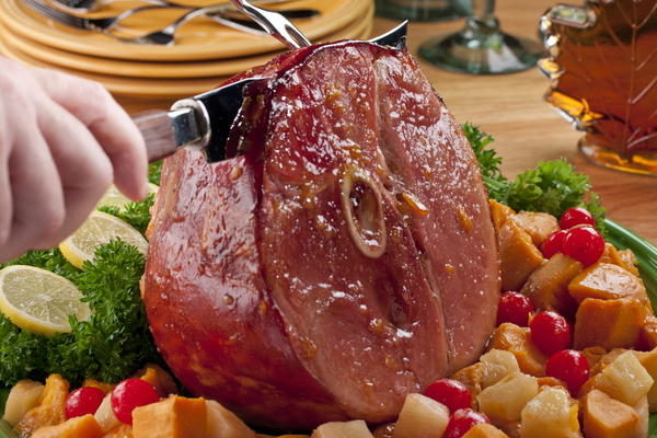 Maple Glazed Ham