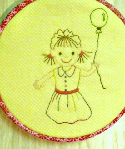 Up Up and Away Free Embroidery Pattern