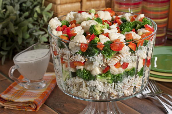 Stacked Pasta Salad