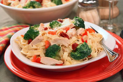 Ranch Chicken Fettuccine