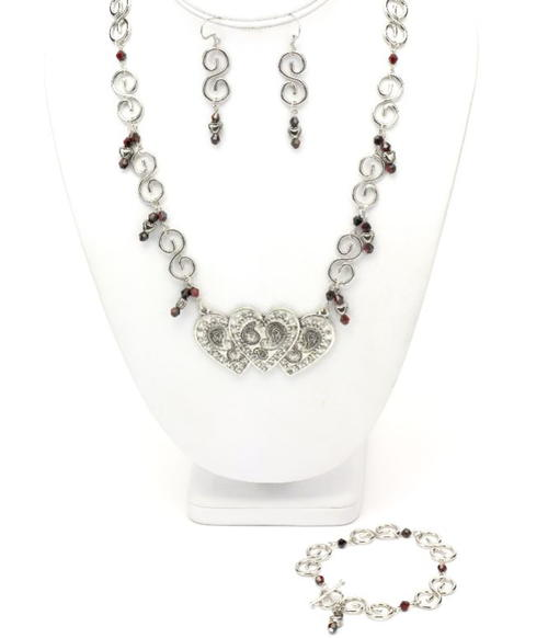 Forever in My Heart Jewelry Set
