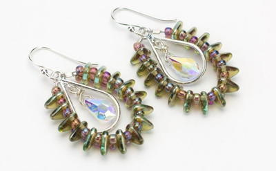 Crystal Rainbow DIY Earrings