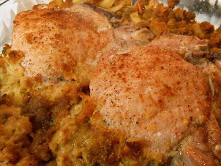 Stuffed Pork Chop Casserole