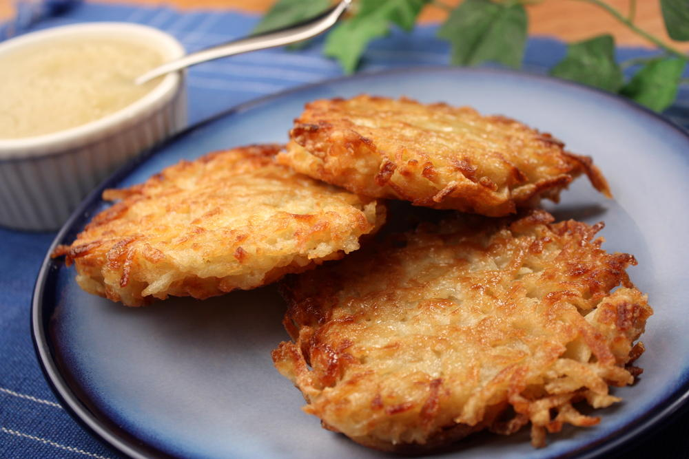 Perfect Potato Pancakes | MrFood.com