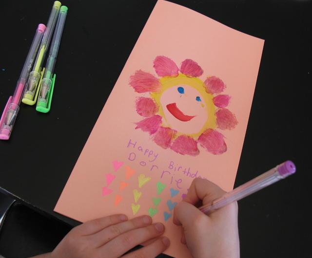 Easy handmade birthday card for Simple homemade birthday gifts
