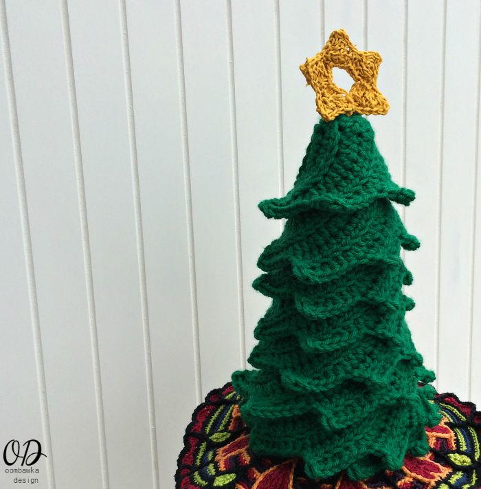 Thread Christmas Tree: Easy Crochet Christmas Tree