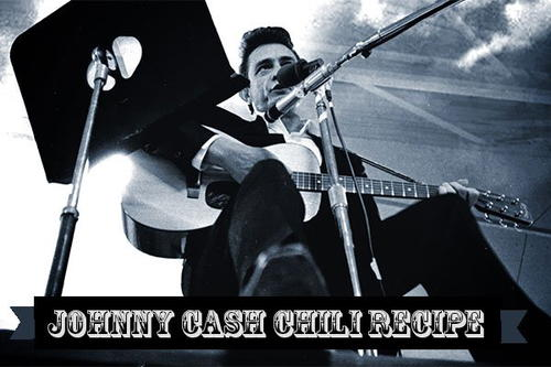 Johnny Cash Original Chili Recipe