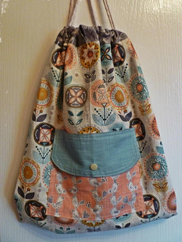 Pretty Little Backpack Tutorial Allfreesewing Com