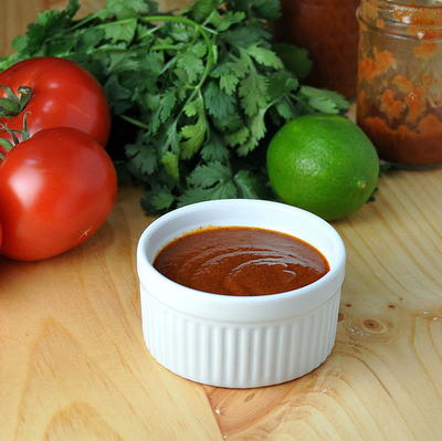 Simple At-home Enchilada Sauce