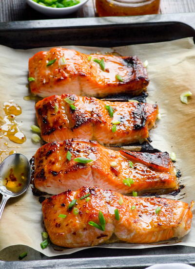 Baked Thai Salmon