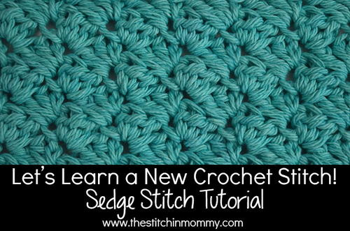 Sedge Stitch Tutorial and Afghan Square