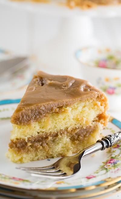 Southern Caramel Cake Recipe