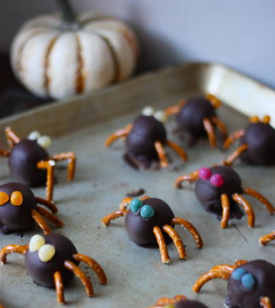 Adorable Spider Truffles