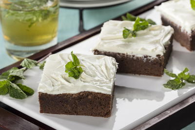 Mint Julep Brownies