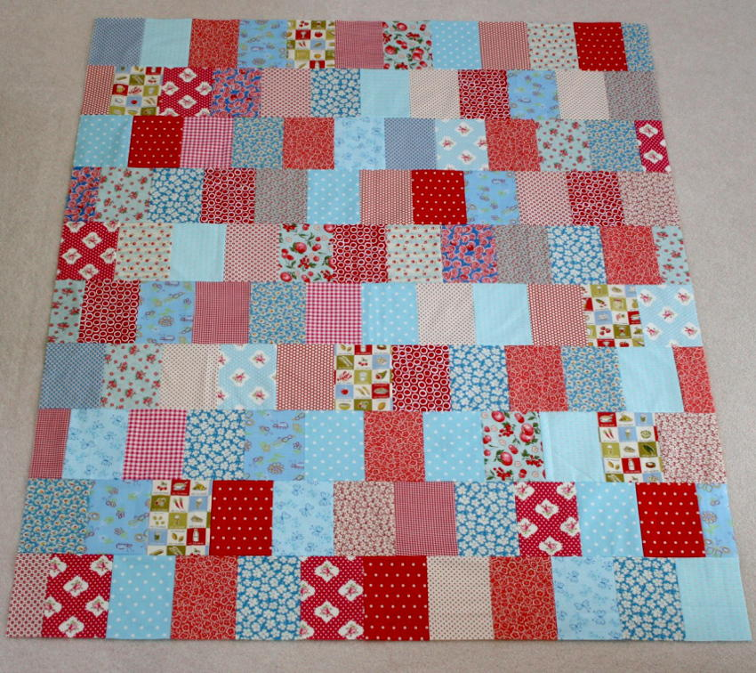Easy As Pie Stash Quilt Favequilts Com