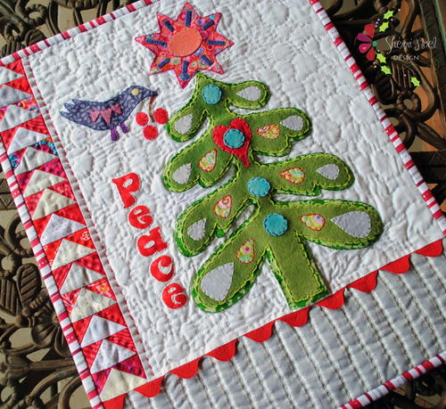 Warm Wishes Applique Quilt