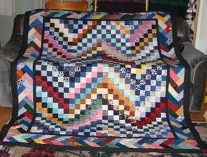 Pioneer Braid Quilt Bargello Border