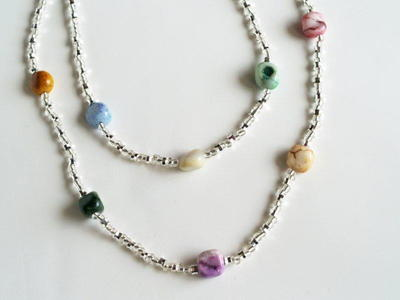 Gemstone Spectrum Necklace