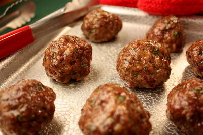 My Own Italian Meatballs