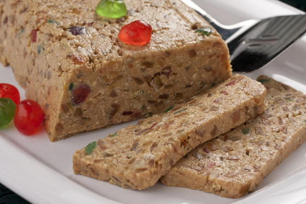 No-Bake Holiday Fruitcake