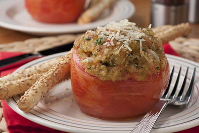 Old-Fashioned Stuffed Tomatoes