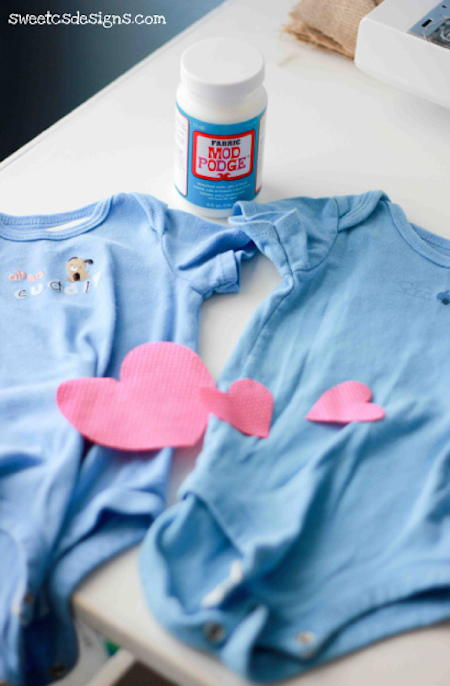 Adorable DIY Onesies