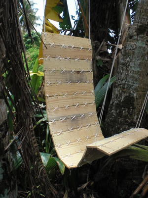 Tropical Hanging Paracord Pallet Chair